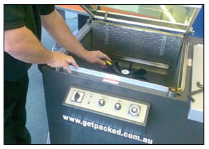 Get Packed provides service for all types of machines