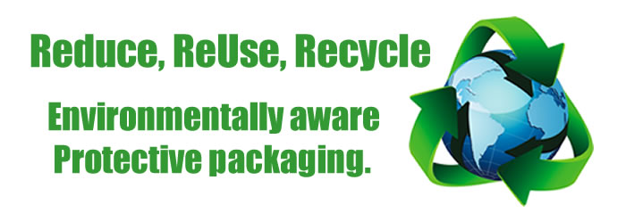 Environmentally aware protective packaging