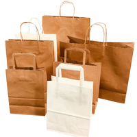 Brown Paper Bags | Recycled Brown Kraft Bags | NaturePac Bags