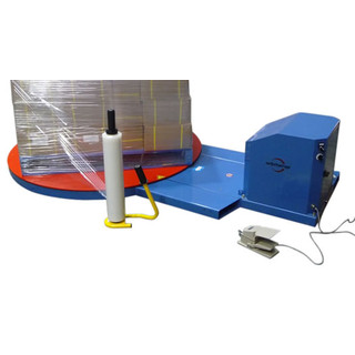 Electric Turntable for Wrapping Pallets