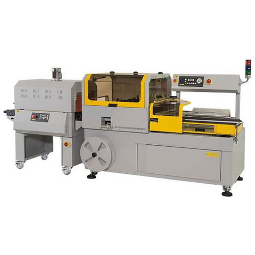 Automatic Shrink Wrapping Machine 4-GP6000 & Shrink Tunnel